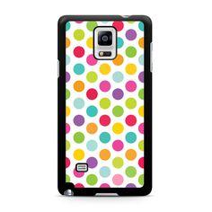 Colorful Polka Dots Samsung Galaxy Note 4 case – Case Persona