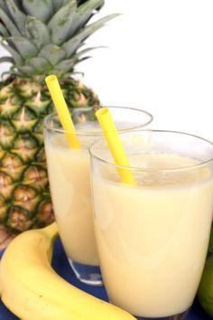 Banaan-ananasshake: http://www.gezondheidsnet.nl/wat-eten-we-vandaag/banaan-ananasshake