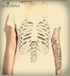 #RibCatarina      Costela,esqueleto,ossos,caveira,skulls,bones,caveirismo
