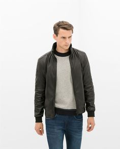 ZARA - SPECIAL PRICES - FAUX LEATHER JACKET