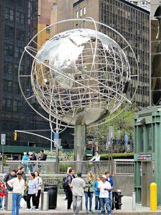 Columbus Circle, New York City. May 2, 2014.