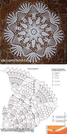 Lace Crochet Doily...<3 Deniz <3