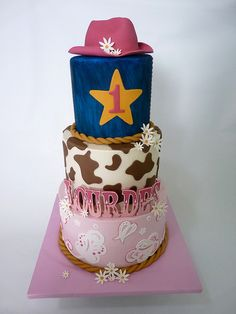 Cowgirl Cake for Brenna??