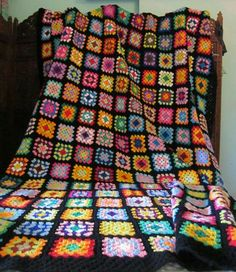 I would love to crochet a blanket like this one day