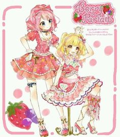 Yume band is Berry Parfait