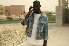 A Conversation Between the Two Wolves on Kanye's Denim Jacket