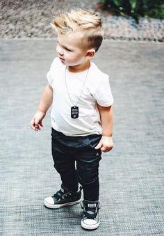Cool kids & boys mohawk haircut hairstyle ideas 44