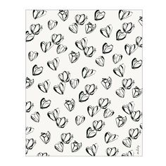 Black Magnolias Wrapping Paper