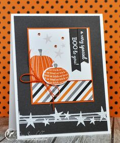 A special BOO to you from Joyful Creations with Kim.  Stamps from My Favorite Things (MFT).