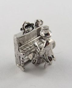 Nice >> Pianist Mechanical Sterling Silver Appeal For Bracelet