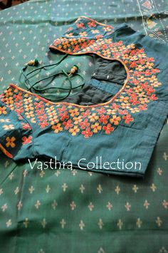 Db embroidered blouse @triptidhingra