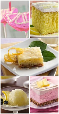 Top 10 Lemonade Desserts