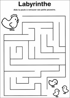 Labyrinth – Free printable Worksheet – Visual Form Constancy / Visual Discrimination / Observation / Visual Perception – Improving Focus, Concentration and Visual Attention Mazes For Kids Printable, English Worksheets For Kids, Kids Math Worksheets, Free Printable, Preschool Learning Activities, Book Activities, Teaching Kids, Kids Learning, Maze Worksheet