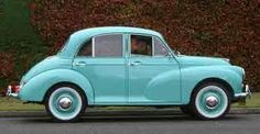 A Morris Minor--I loved these cars as a kid, and still do!