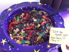 Dirt!! Yummy!! Halloween dessert!
