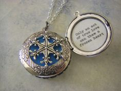 Hey, I found this really awesome Etsy listing at https://www.etsy.com/listing/180568865/silver-snowflake-locket-frozen-movie