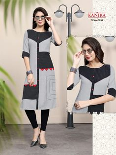 Kanika Rich Look Vol 7 Designer Rayon Print Kurtis