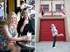 Valarie & Jonathan's Engagement Session | Laura Christine Photography | Little Italy, San Diego