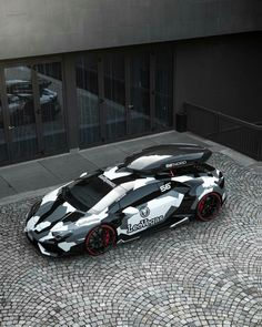Lamborghini Huracan by Jon Olsson  I love the idea of a roof rack on a supercar