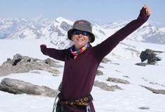 Summer climbing on the Wapta Icefield