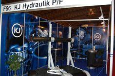 KJ Hydraulik exhibiting at IceFish 2014.