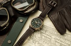 IWC schaffhausen pilot's watch collection rekindles the magic of flying - Dr Wong - Emporium of Tings. Men's Accessories, Iwc Chronograph, Iwc Pilot, Bronze, Patek Philippe, Seiko Watches, Luxury Watches For Men, Vintage Watches