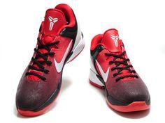 Nike Zoom Kobe 7 VII Red White Black,Colorway:Red/White/Black