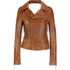 Short Body Distressed Fashion Leather Jacket, made of Glazed Distressed leather, it's a lightweight fitted Leather Jacket for a sleek, Stylish, hot and polished look. Jacket features Front Zipper design, Snap Shoulder Notch Collar, straight Zipper cuffs and comes fully lined.