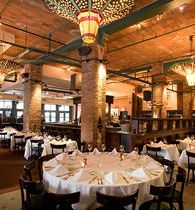 Tribeca Grill... Such good and cool atmosphere plus you have a high chance of seeing an actor or two!