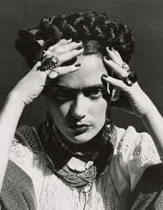 Salma Hayek as Frida Kahlo for Frida directed by Julie Taymor, 2002
