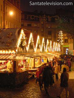 Weihnachtsmarkt in Metz, Frankreich