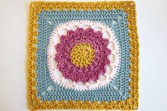 "Ravelry: Starfire - 12"" square pattern by Melinda Miller"