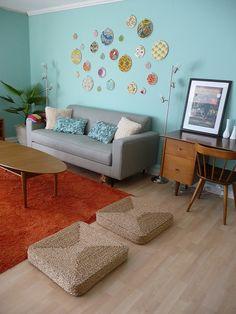 danish modern room