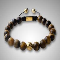NY-B-040 Tiger Eye Shamballa Jewelry Handmade Adjustable Bracelets Ball Bead Bracelet for Men Custom Jewelry High Quality