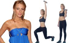 Get a body like Blake Lively's: Star's personal trainer Bobby Strom tells you how