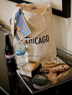 Magnificent Milestones Chicago welcome tote