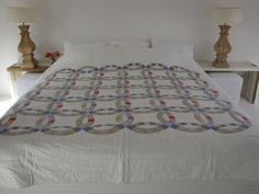 Handgemaakte quilt nummer 2 - 260 cm 260 cm € 260,00 | VIA CANNELLA WOONWINKEL | CUIJK