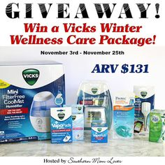 Krazy Kat Freebies: Ends Tonight! Vicks Winter Wellness Care Package Giveaway