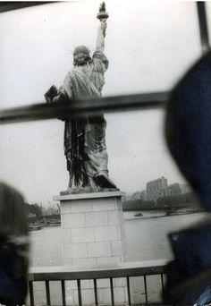 Estátua da Liberdade - Paris - 10/07/1969