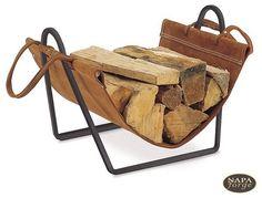 Fireplace Wood Holder Inside Fireplace Photo - 1