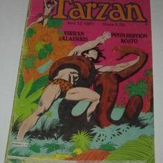 Tarzan 12/1981 | SarjisHemmon SarjaKuvaKauppa