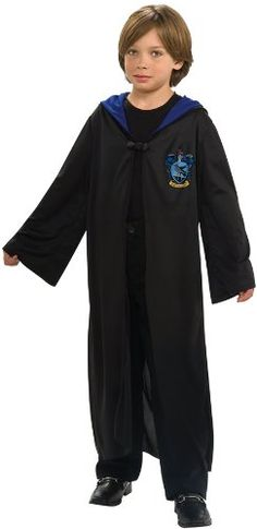 Ravenclaw Hooded Robe Costume - Large *** Read more reviews of the product by visiting the link on the image.