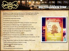 HIGH TECH GREEN VENUE :: Brooklyn Bowl = Food by Blue Ribbon + 16 lane bowling alley + 600 capacity live music venue :: located in Brooklyn, NY. // Find us on Twitter & Instagram @brooklynbowl - FB: http://bkbwl.com/gVLVzS // #BrooklynBowl - #BowlingAlley - #LiveMusicVenue - #BlueRibbonFood - #LiveMusic - #BrooklynBowlEvents - #BrooklynNightlife - #NYC - #Entertainment - #NewMusic -  #Concerts - #hightech - #GreenVenue
