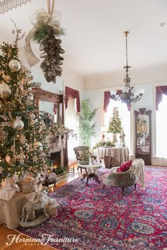 HermannFurniture Christmas at the Mansion 2015 5667