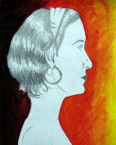 Módulo III. RETRATOS. Dibujar para contactar íntimamente lo que nos toca ver. Dibujo de Mariana Gonzalez