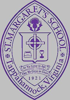 "St. Margaret's School, Tappahannock, Virginia ... ""As we grow in age, may we grow in grace and in the knowledge of our Lord & Saviour Jesus Christ"""