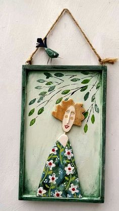 Diy And Crafts, Arts And Crafts, Paper Crafts, Clay Art Projects, Projects To Try, Pintura Country, Sculpture Clay, Recycled Art, Ceramic Art