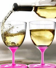 Pink Stack 'N' Go Wineglass *love these