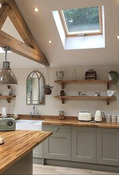 I will never tire of seeing this gorgeous modern country style kitchen on my feed. I like to refer to 38 Dreamiest Farmhouse Kitchen Decor and Design Ideas to Fuel Your Remodel Modern Country Kitchens, Modern Country Style, Country Kitchen Designs, Country Farmhouse Decor, Country Style Homes, Farmhouse Kitchen Decor, Home Decor Kitchen, New Kitchen, Kitchen Ideas