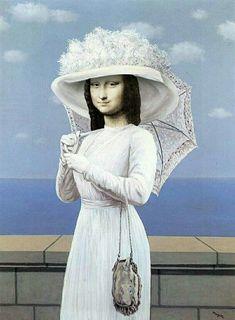 Mona Lisa Parody, Mona Lisa Smile, Missing Child, Magritte, Girl Face, Van Gogh, Caricature, Painting, Instagram